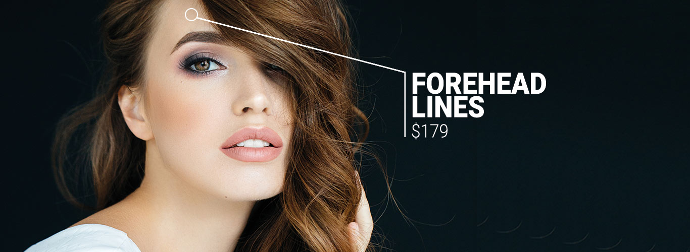 Forehead lines $179
