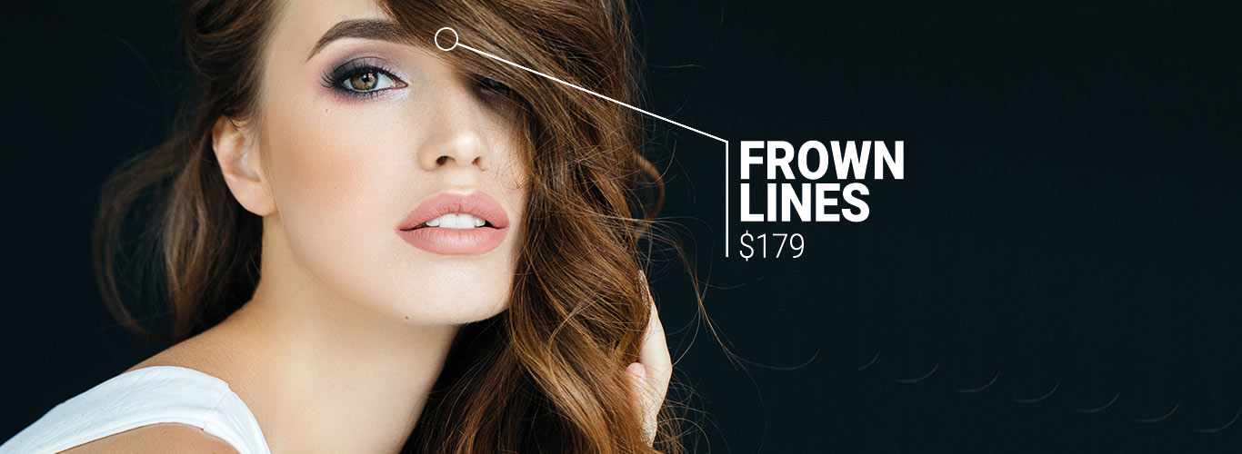 Frown lines $179