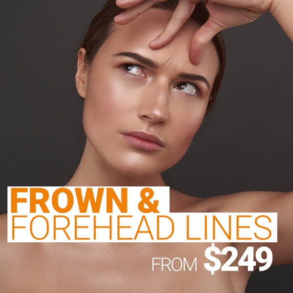 Frown & Forehead lines from $249