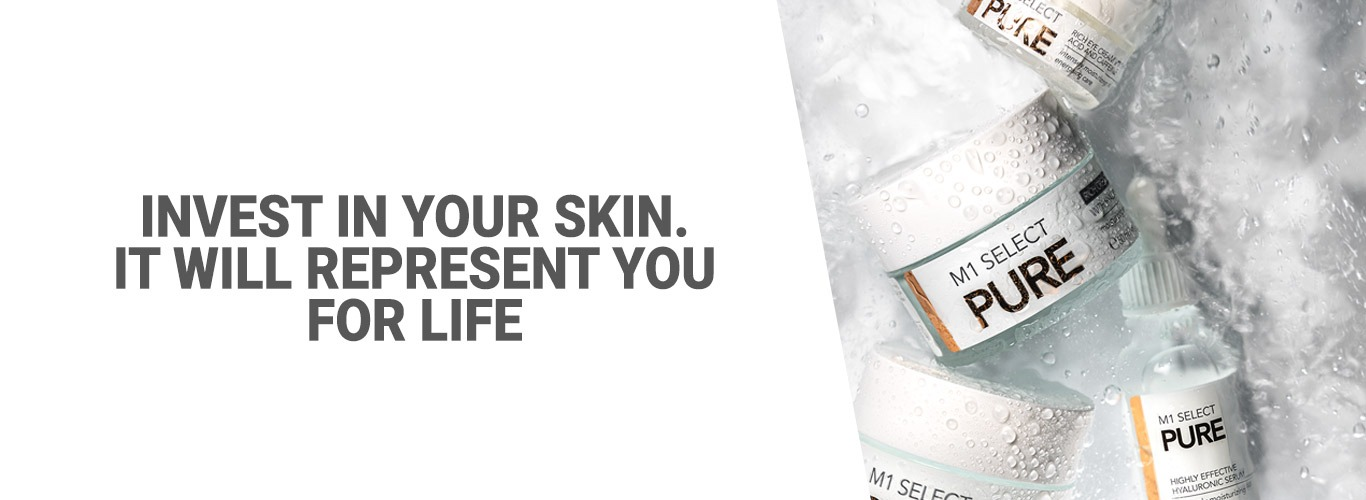 Invest in your Skin. It will Represent you for Life.