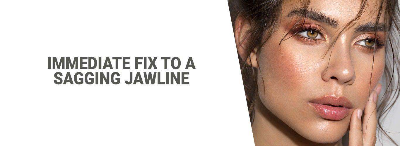 Immediate Fix to a Sagging Jawline