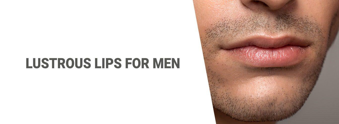 Blogpost: Lustrous lips for Men