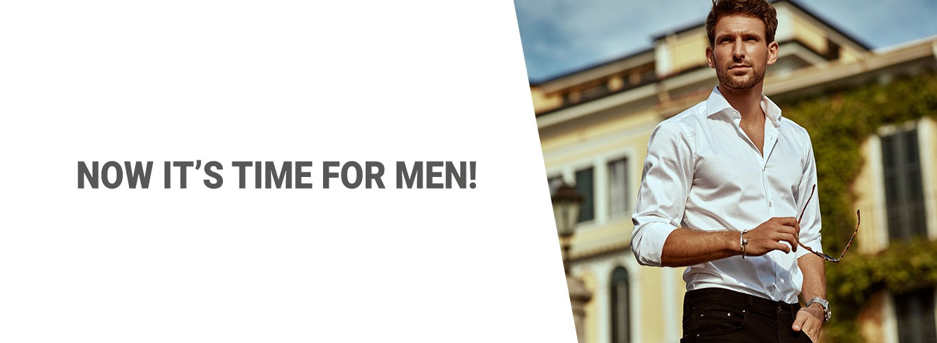 Blog: Now it's time for men!